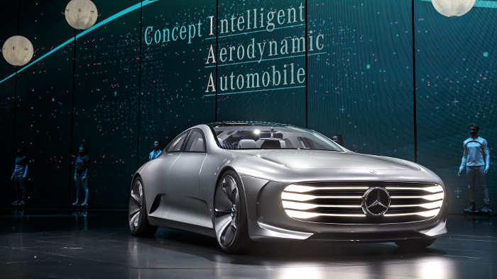 Das Mercedes Concept IAA ist ein Hingucker.