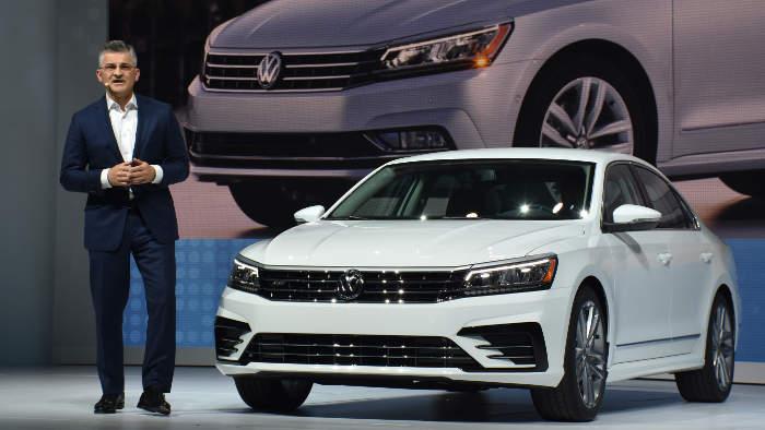 VW USA-Chef Michael Horn gehört auch zu den Beklagten.