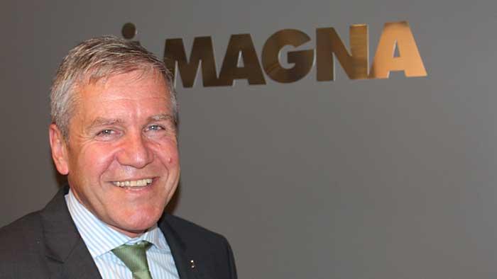Jake Hirsch, Präsident Powertrain bei Magna
