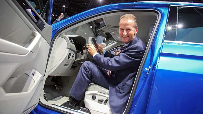 VW-Markenvorstand Herbert Diess