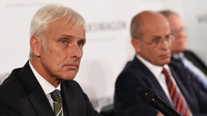 VW-Chef Müller: Sorgfalt geht vor Geschwindigkeit