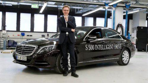 Ralf G. Herrtwich leitet bei Daimler die Fahrzeugautomatisierung.