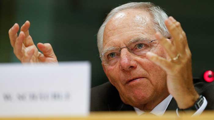 Bundesfinanzminister Wolfgang Schäuble dämpfte die Erwartungen.