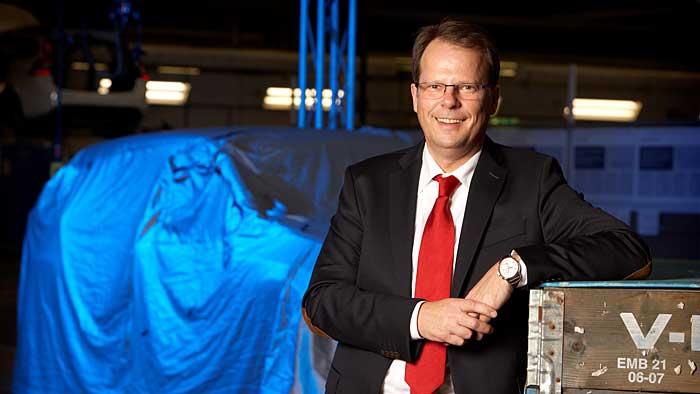 Volvo-Entwicklungs-Chef Peter Mertens