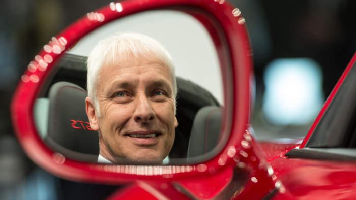 Matthias Müller - nicht für jeden Aktionär ist er der passende Chef.
