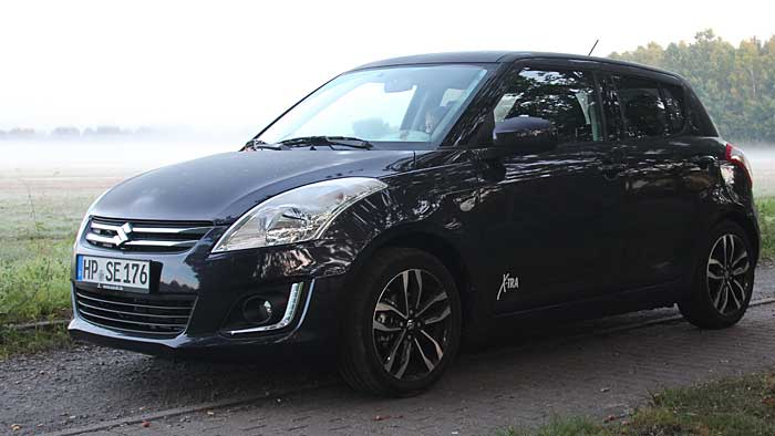 Suzuki Swift X-TRA: Ungeschminkt retro