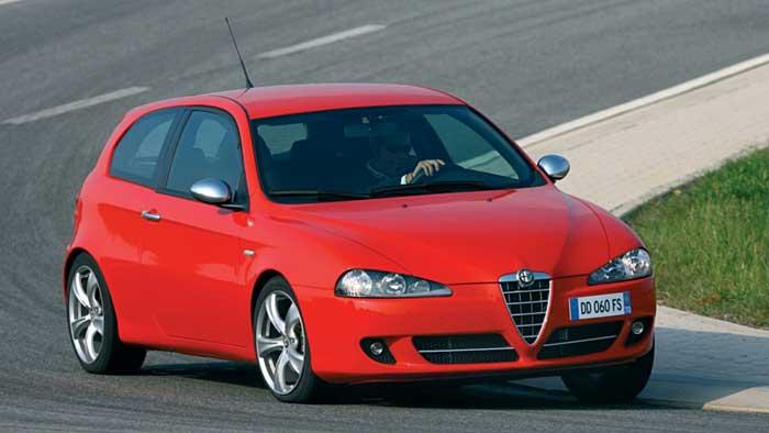 Der Alfa Romeo 147 besticht durch Flair statt durch Qualität