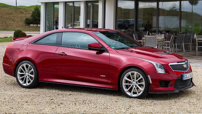 Das Cadillac ATS-V Coupé ist dank Leichtbau noch spritziger unterwegs
