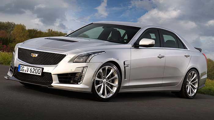 Der CTS-V ist das stärkste Cadillac-Serienmodell aller Zeiten.