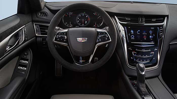 Der CTS-V ist das stärkste Cadillac Serienmodell aller Zeiten.