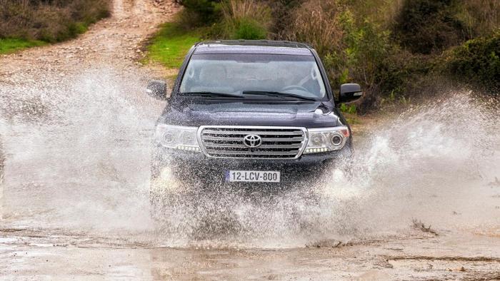 Der Toyota Land Cruiser fährt in die Rente.