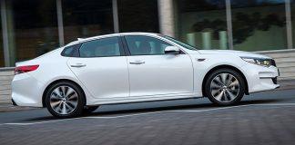Der Kia Optima führt die neue Hybrid-Flotte an