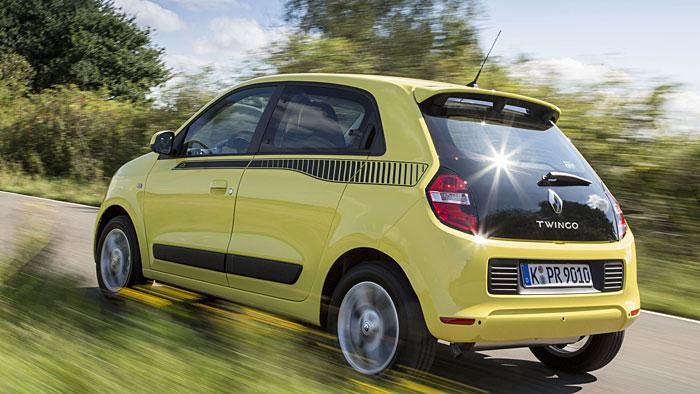 Der Renault Twingo passt ideal in die Großstadt.