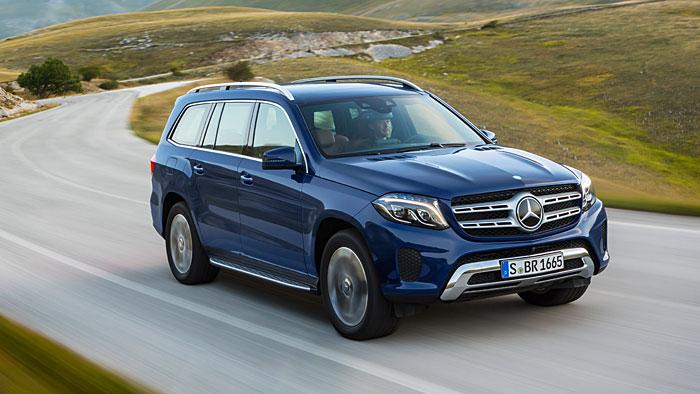 Der neue Mercedes GLS ist ab dem 4. November bestellbar.