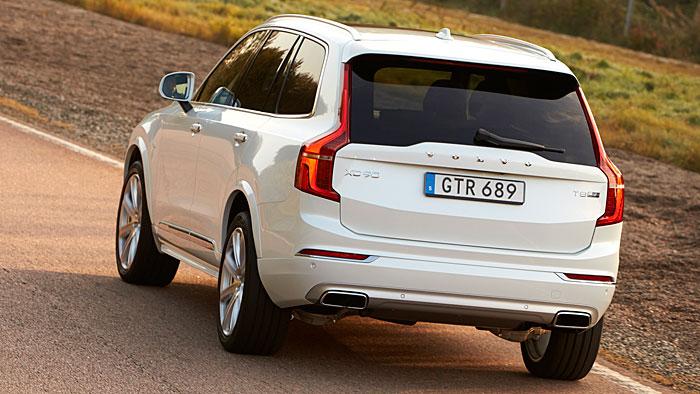 Volvo hat den XC90 unter Strom gesetzt.