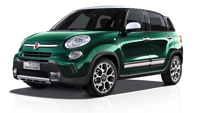 "Fiat bietet den 500L Trekking als Sondermodell ""Rock N Road"" an."