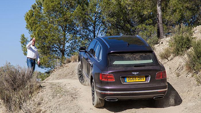 Bentley Bentayga: Luxus hört nicht im Gelände auf