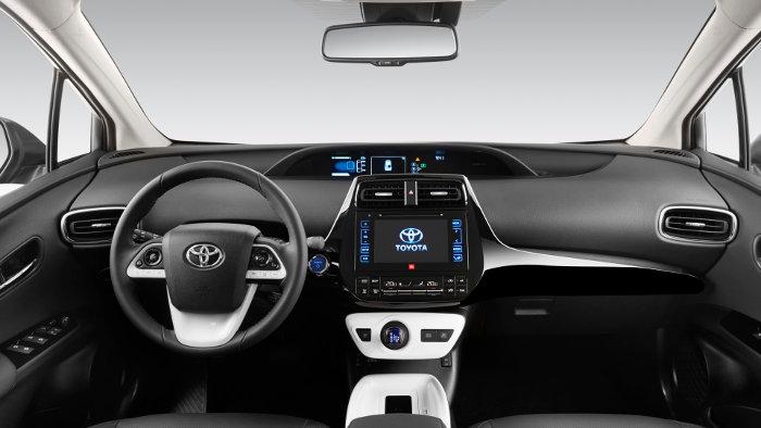 Das Cockpit des neuen Toyota Prius.