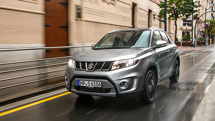 Der Vitara S sorgt für Direkteinspritzer-Premiere bei Suzuki.