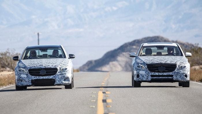 Die neue E-Klasse soll 2016 Mercedes hohes Wachstum bringen.