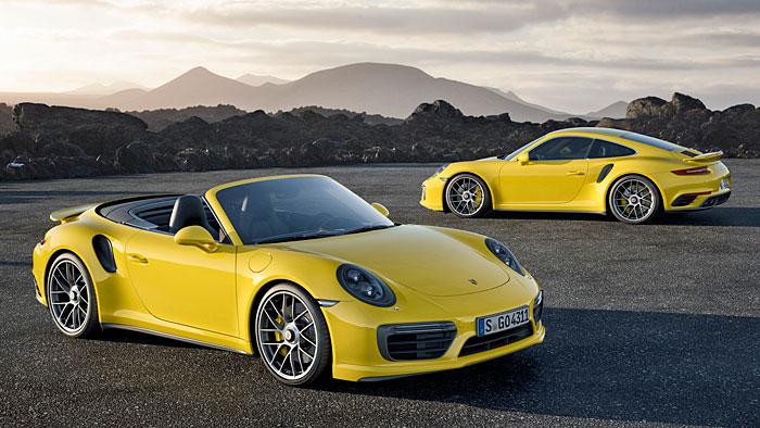 Der Porsche 911 Turbo S greift nun auf 580 PS zurück.