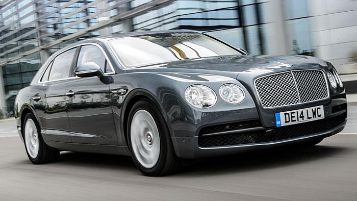 """Der Bentley Flying Spur verfügt als """"kleinerer"""" V8 immer noch über 507 PS."""
