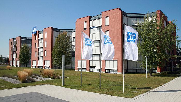 Die Zentrale von ZF in Friedrichshafen