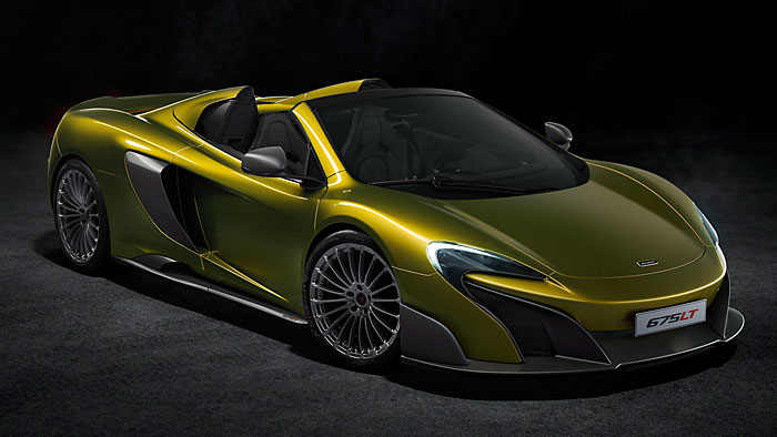 McLaren öffnet den 675 LT