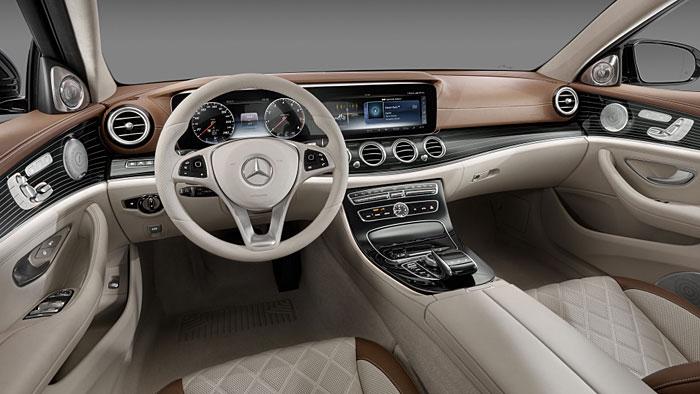Neue Maßstäbe hat Mercedes im Innenraum der E-Klasse angelegt.