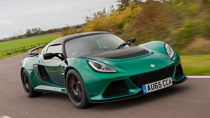 Der Lotus Exige Sport 350 verfügt über 350 PS.