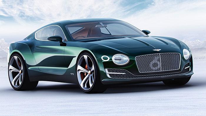 Die Studie Bentley EXP 10 Speed Six könnte bald Serienreife erlangen.