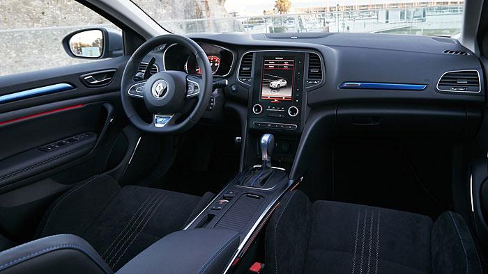 Der Renault Megane GT verfügt über 205 PS.