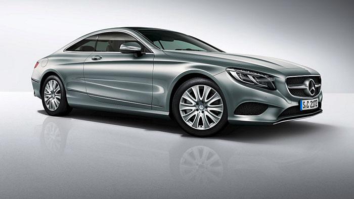 Mercedes bringt ein neues Einstiegsmodell des S-Klasse Coupés.