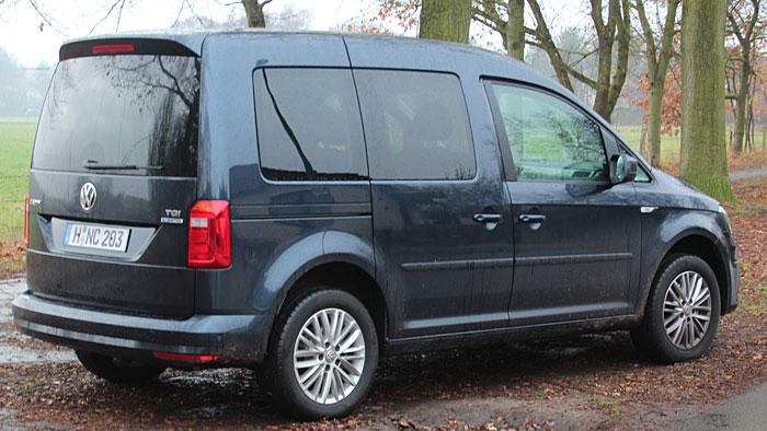Der VW Caddy 1,4 TGI erhält ein Sechsgang-DSG