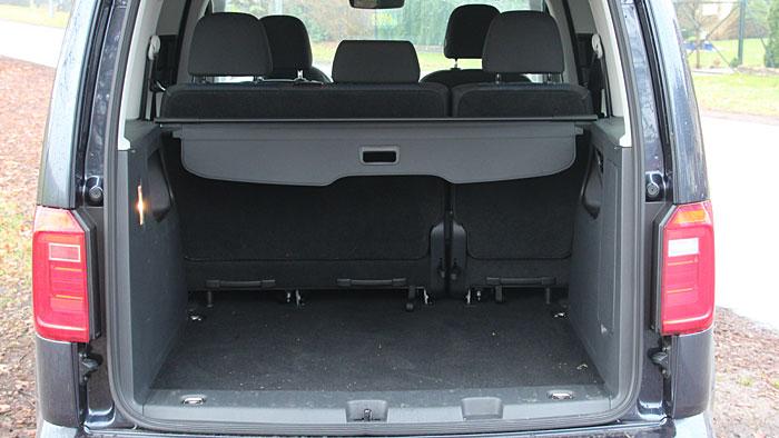 Der VW Caddy überzeugt mit Erdgasantrieb.