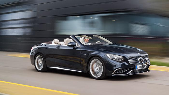 Mercedes-AMG S 65 Cabrio: Schneller Genuss