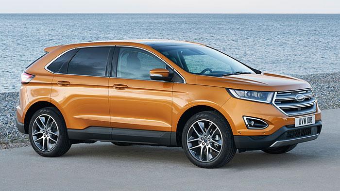 Der Ford Edge kommt im Juni auf den europäischen Markt.