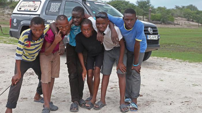 Unterwegs durch Afrika zu den Big Five