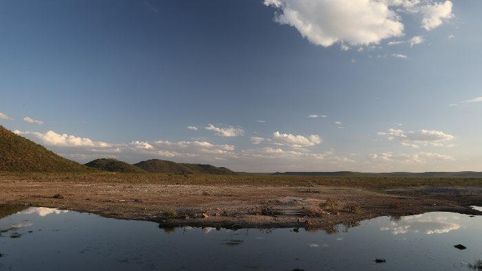 Der Himmel über Südafrika.