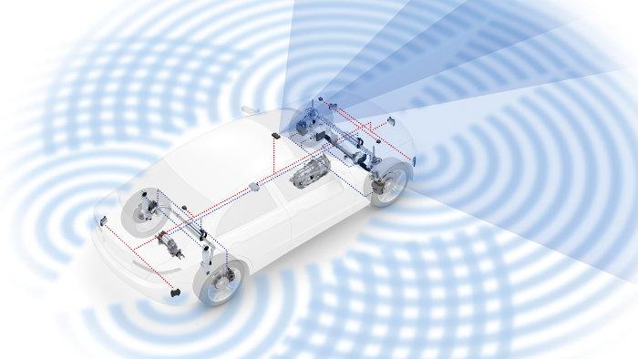 ZF Sensoren Vernetzung autonomes Fahren neu ZF