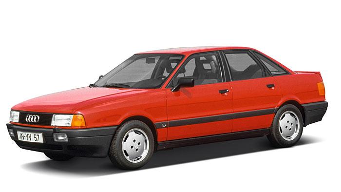 Der Audi 80 kam 1986 auf den Markt