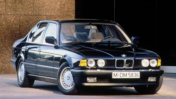 1986 erblickte der 7er BMW das Licht der Welt