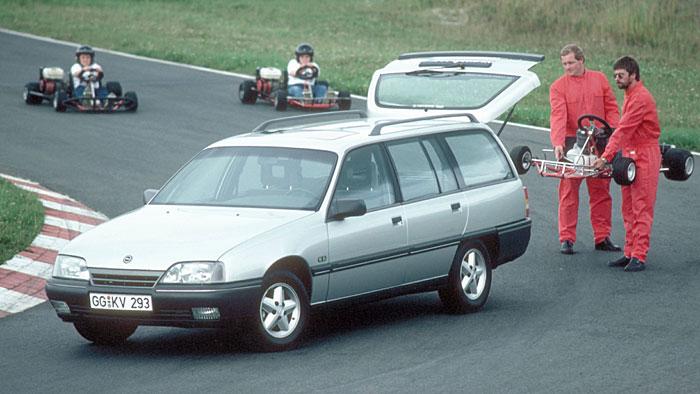 Der Opel Omega löste 1986 den Rekord ab.