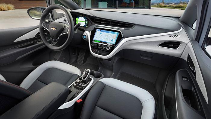 Der Chevrolet Bolt soll über bis zu 320 Kilometer Reichweite verfügen.