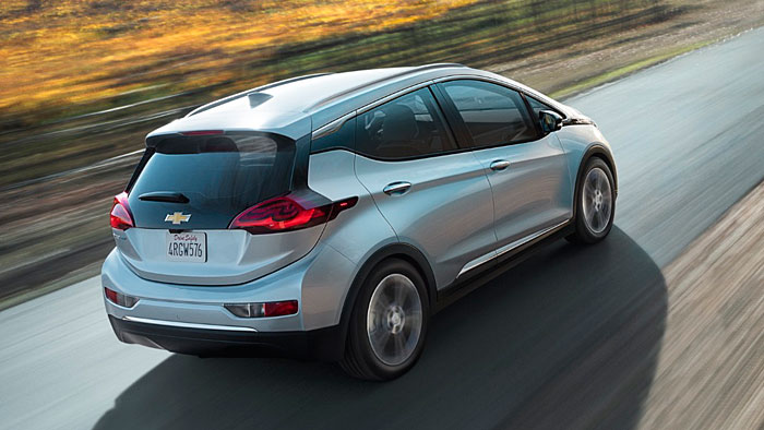 Der Chevrolet Bolt hat über 300 Kilometer Reichweite.