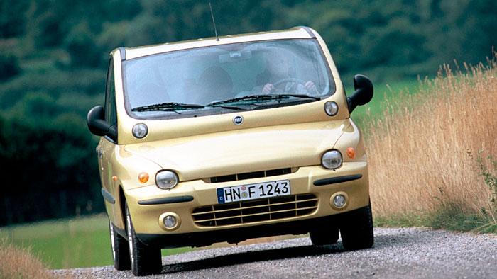 Der Fiat Multipla gehört zu den skurrilsten Autos aller Zeiten