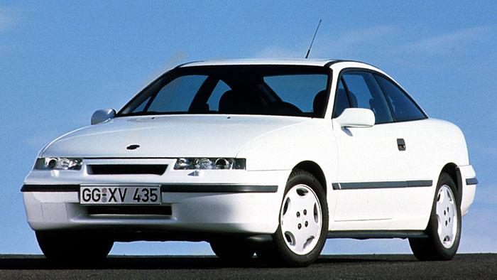 Der Opel Calibra setzte Akzente bei der Aerodynamik