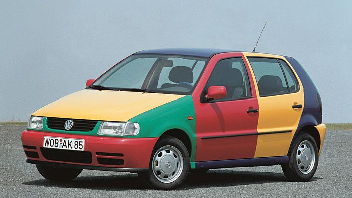 Der VW Polo Harlekin war kein Werbegag
