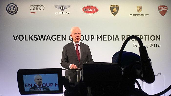 VW-Chef irritiert mit Aussagen zum Abgasskandal