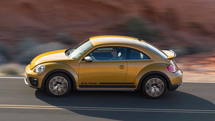 VW schickt den Beetle Dune in die Wüste
